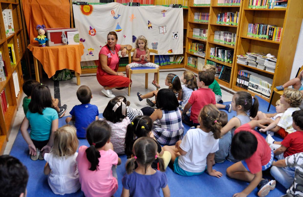 Día del cuento: «Las tres maletas» en la biblioteca Claudio Rodríguez - diariodesanse.com